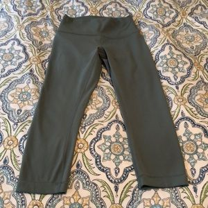 Lululemon Wunder Under Crops Full-On Luxtreme 21""